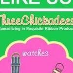 Three Chickadees