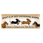 What's Up Dox Dachshund Shoppe