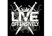 coupons or promo codes at liveoffensively.com