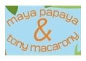 Maya Papaya & Tony Macarony coupons or promo codes at maya-tony.com
