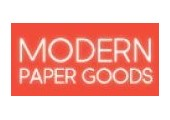 modernpapergoods.com coupons and promo codes