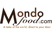 mondofood.com coupons or promo codes