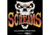Screams Halloween Theme Park coupons or promo codes at screamspark.com