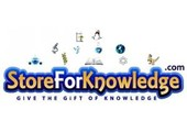 Store for Knowledge coupons or promo codes at storeforknowledge.com
